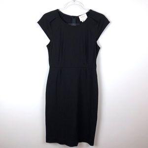 Kate Spade Black Cap Sleeve Dress Size 6